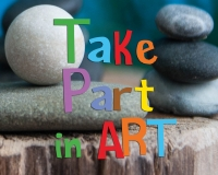 Tickets for TAKE PART IN ART festival available online.